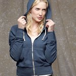 Ladies' French Terry Hooded Full-Zip
