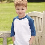 Toddler Three-Quarter Sleeve Baseball Jersey