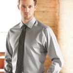 Slim Fit Non-Iron Dobby Pindot Shirt