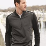 Golf Quarter-Zip Birdseye Fleece Pullover