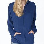 Adult Sueded Full-Zip Hoody