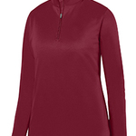 Ladies' Wicking Fleece Quarter-Zip Pullover