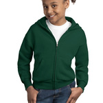 Youth EcoSmart ® Full Zip Hooded Sweatshirt