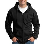 Essential Fleece Full Zip Hooded Sweatshirt